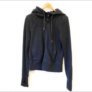Lululemon Black Scuba Knit Hoodie Size 8